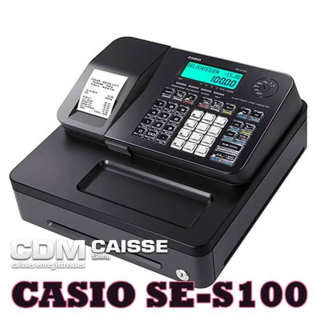 Caisse à clavier CASIO SE-S100s
