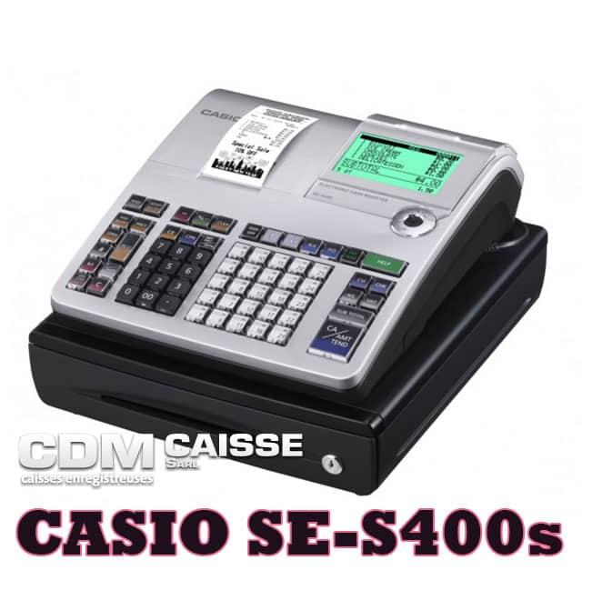 Caisse à clavier Casio SE-S400S Petit tiroir