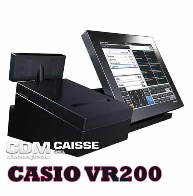 Caisse tactile Casio V-R200