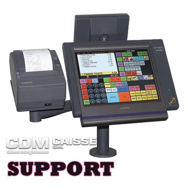 Support de caisse enregistreuse Prix sur demande - CDM Caisse