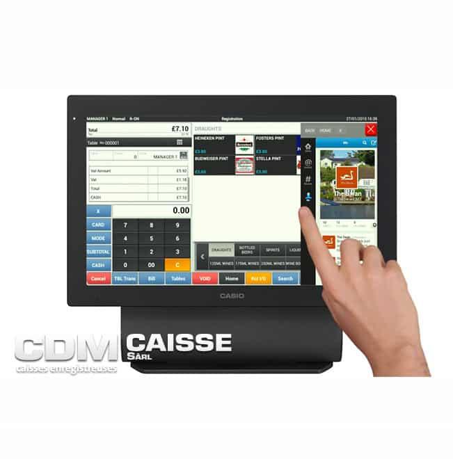 Caisse tactile Casio VR-7000/7100